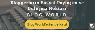 Bu blog Blog World üyesidir.
