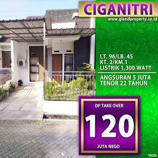 Rumah over kredit atau rumah takeover di ciganitri buahbatu