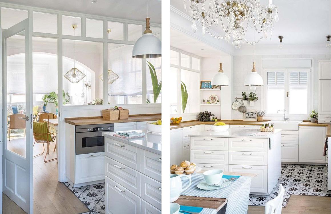 casa de los sueños balamoda cocina blanca americana