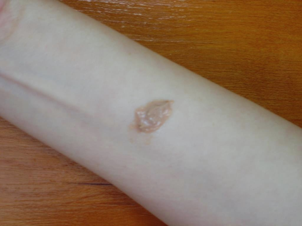 IT Cosmetics CC+ Bronzer unspread swatch.jpeg