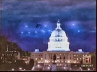 A Galaktikus Föderáció hajói Washingtonban 1952-ben, melyet a kormány ügyesen eltussolt 1.rész (VIDEÓVAL!)
