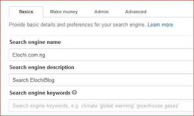 Google custom search - make money