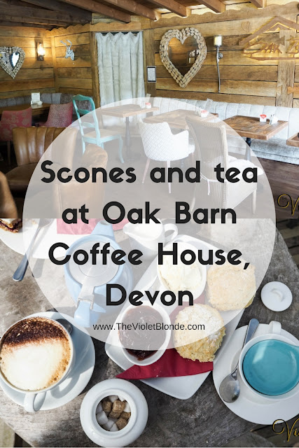 Afternoon tea at Oak Barn Coffee Lounge, Devon