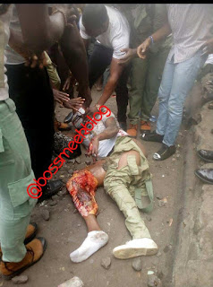 Female Corps Member Who Was Brutally Injured By Train Gave Up Ghost This Morning (Photos)