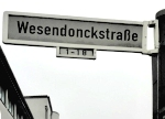 Wesendonckstraße in Bonn