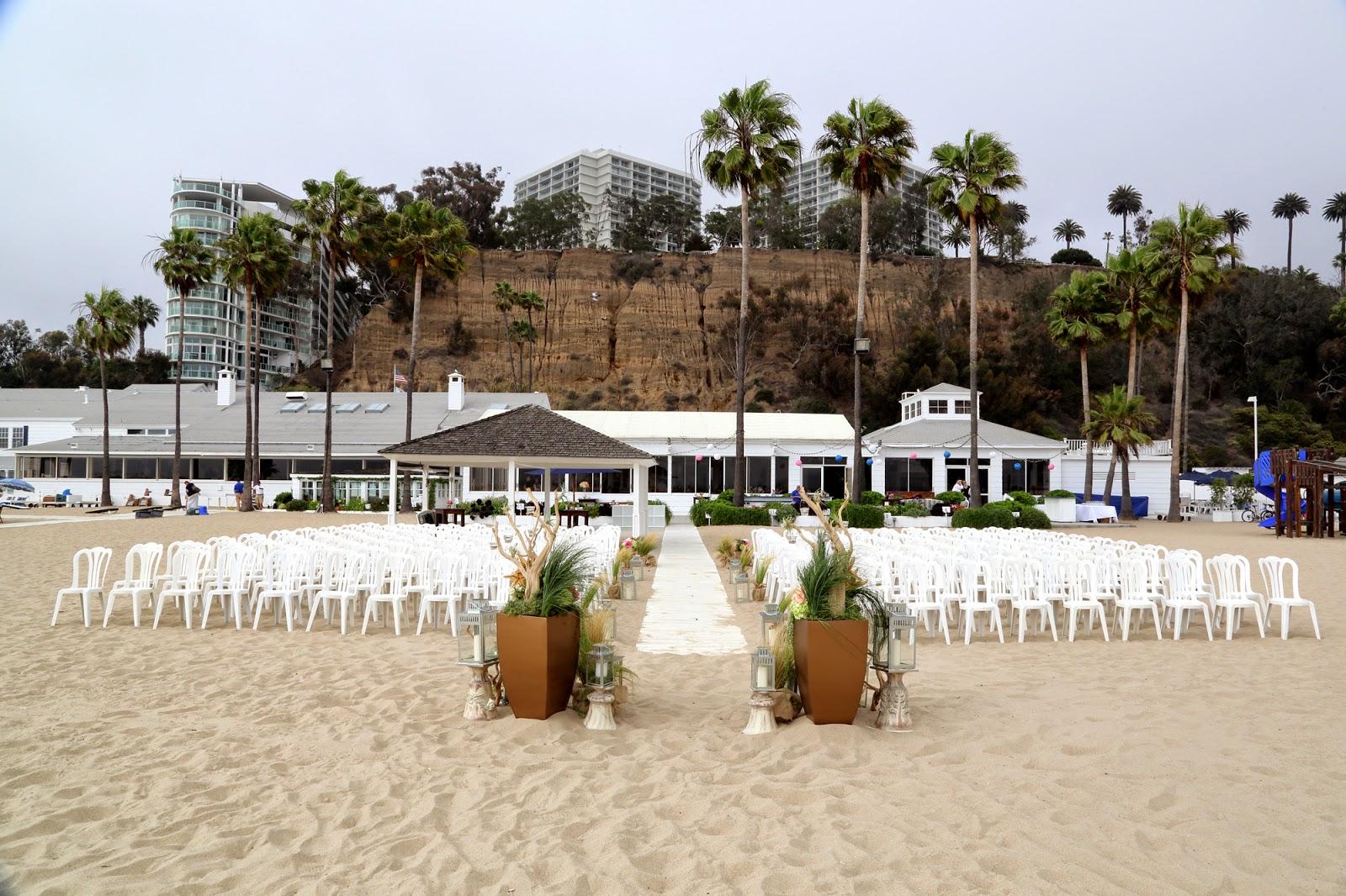 The Famous Santa Monica Beach Umbrellas