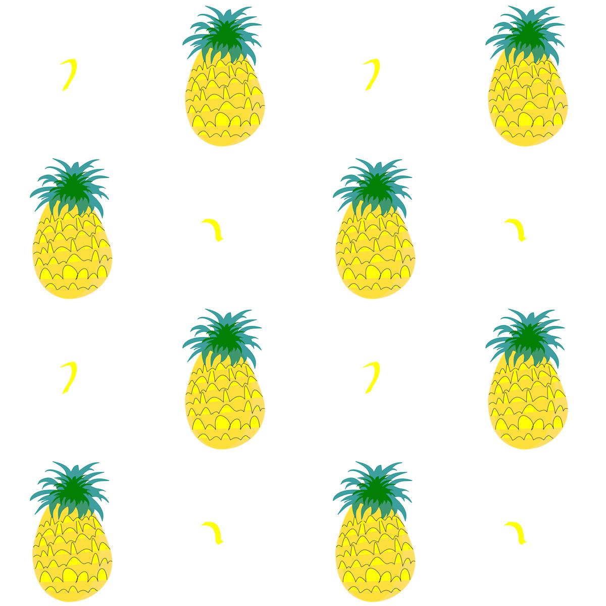 MeinLilaPark: Free digital fruity pineapple scrapbooking ...