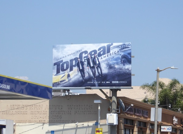 Top Gear America billboard