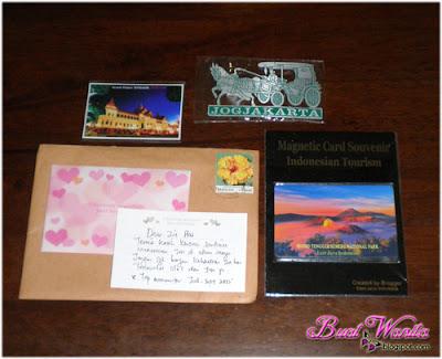 Dapat Gift Kali Kedua. Sayonara Buat Blogger Jari Manis @ JM. Kungjung Mengunjung Sesama Blogger. Terima Kasih Semua