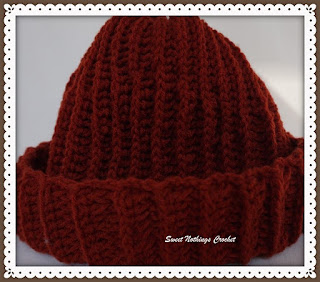crochet headwear for men, beanie