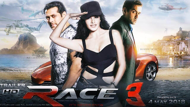 Race 3 trailer 2018