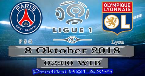 Prediksi Bola855 Paris Saint Germain vs Lyon 8 Oktober 2018