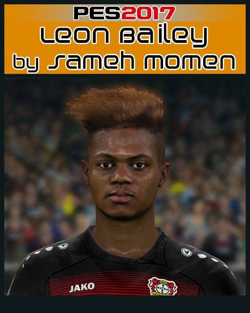 Pes 2017 L Moura Face By Sameh Momen: Ultigamerz: PES 2017 Leon Bailey (Bayer) Face