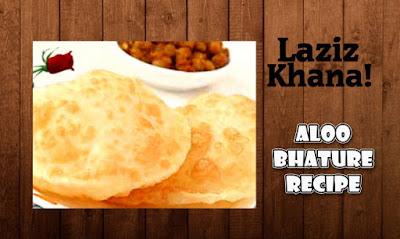 आलू भटूरे बनाने की विधि - Aloo Bhature Recipe in Hindi