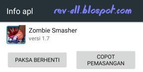 Ikon Game Android Zombie Smasher - Permainan tap zombie yang lewat layar (rev-all.blogspot.com)
