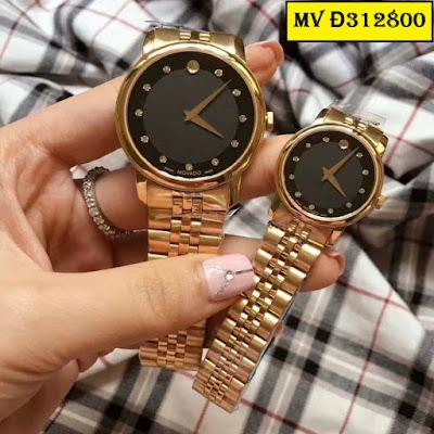 đồng hồ cặp đôi movado d312800