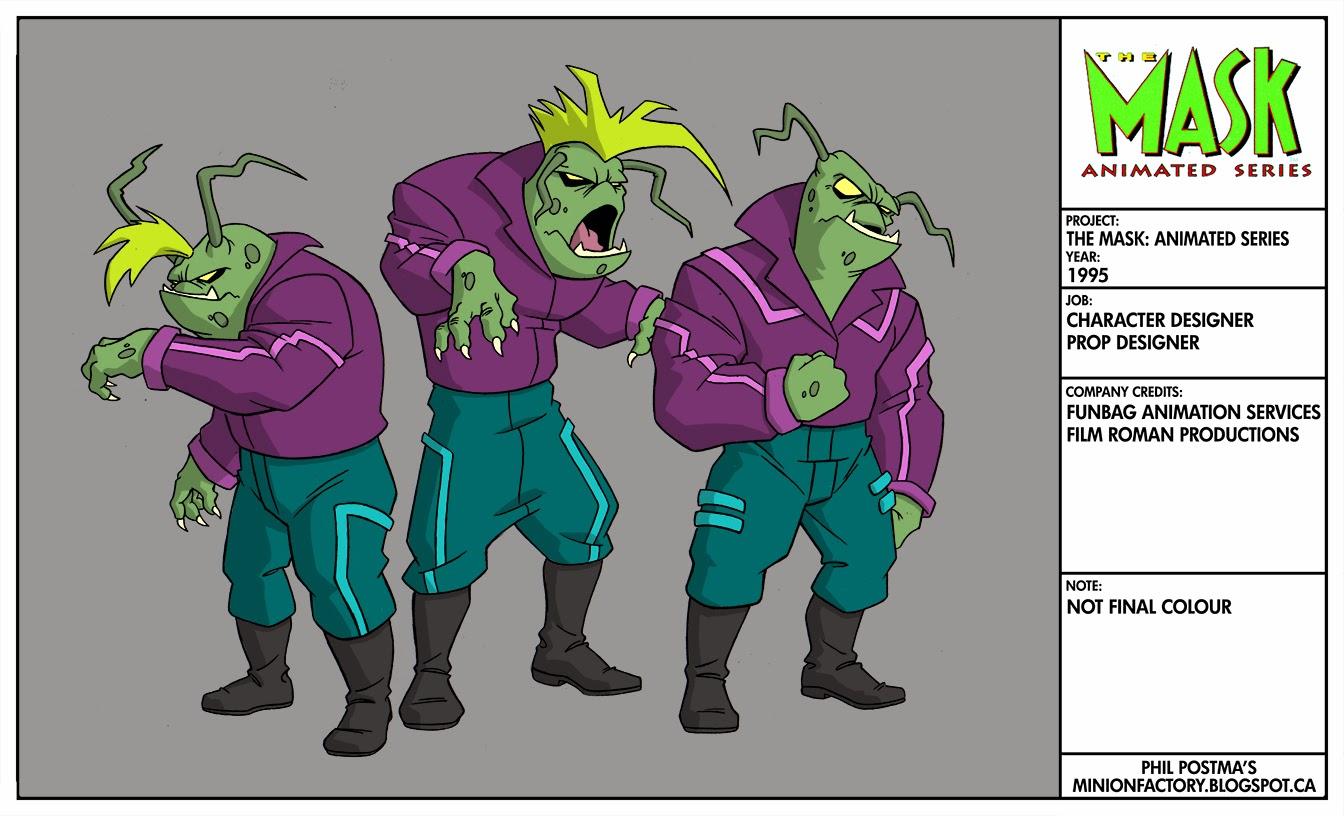 the mask cartoon series