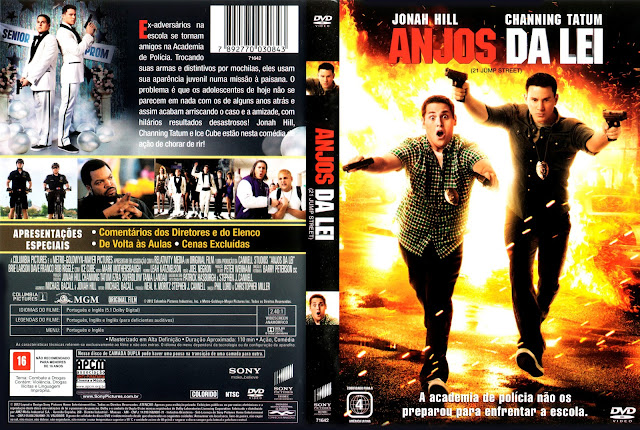 Capa DVD Anjos da Lei