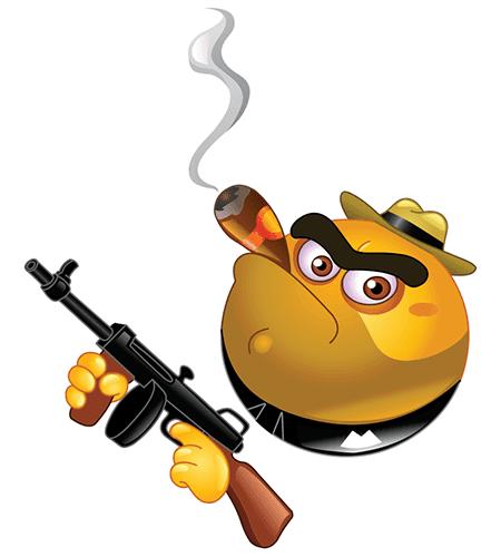 Gangster Emoticon