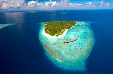 A Bird Eye View of Maldives