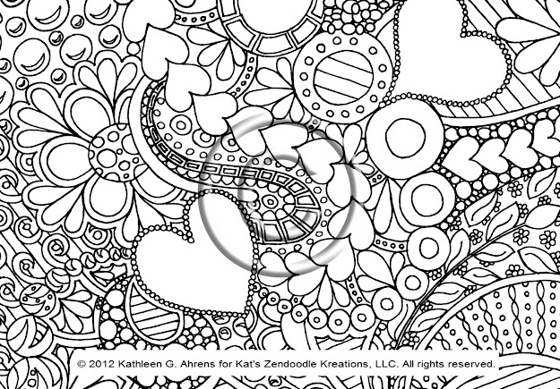 Abstract Designs Coloring Pages