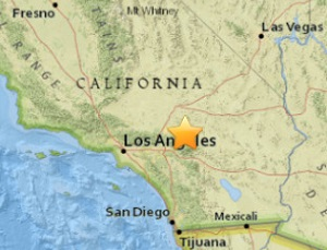 magnitude 3 9 light earthquake rattled southern california today february 16 2016 at 01 24 am tuesday morning the united states geological survey usgs
