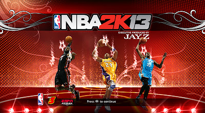 NBA 2K13 Title Page Patch Mod