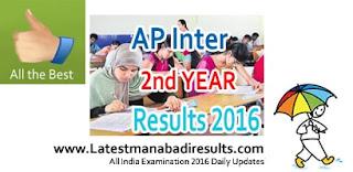 Manabadi Result Inter, AP Results Manabadi, Inter 2nd year results 2016 today, manabadi inter results 2016, ap sr inter results 2016, inter second year result on 19th april 2016