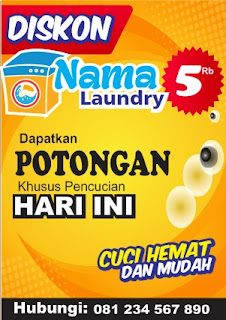 Downlod Brosur Laundry A5