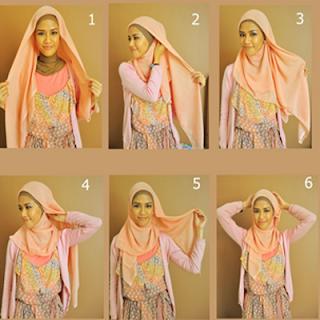 Yuk Cobain Tutorial Hijab Segi Empat Praktis dan Gak Bikin Ribet