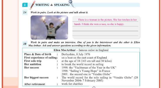 9. Sınıf Yıldırım Yayınları İngilizce A1.2 Ders Kitabı 60. Sayfa Cevapları Theme 4 Sports