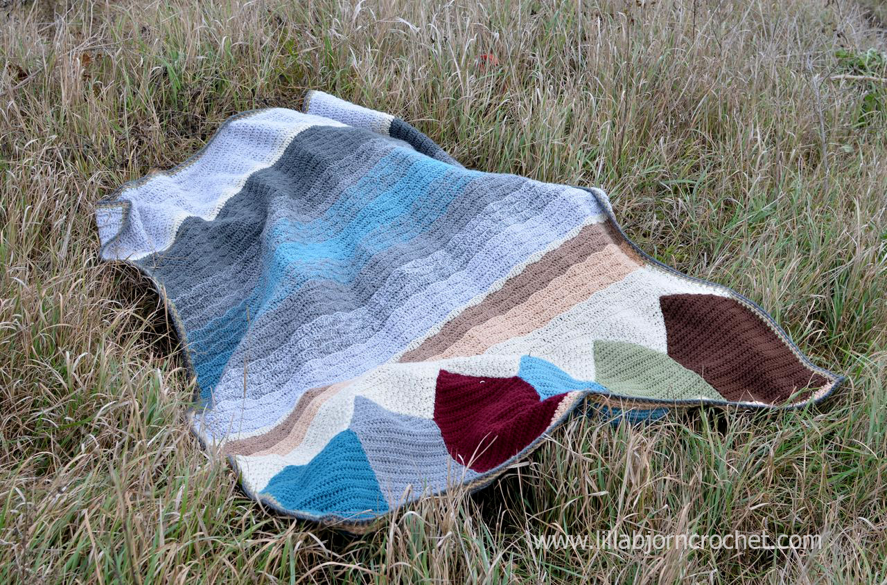 Birthday in Malmo blanket by Lilla Bjorn Crochet