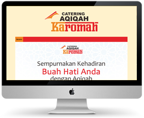 landing page di blogspot