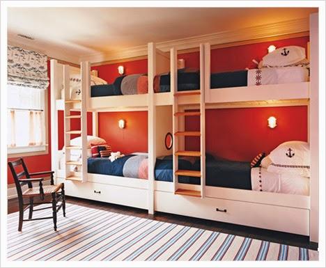 cuarto para 4 niños