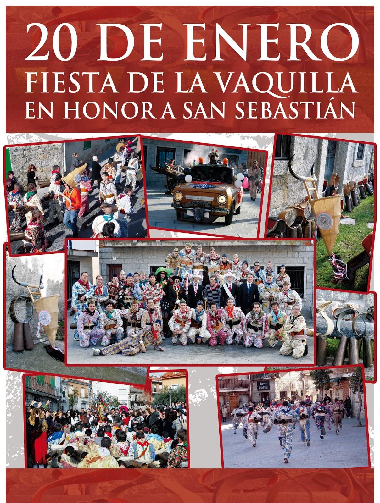 Descubre Castilla 20 Enero Fiesta De La Vaquilla De