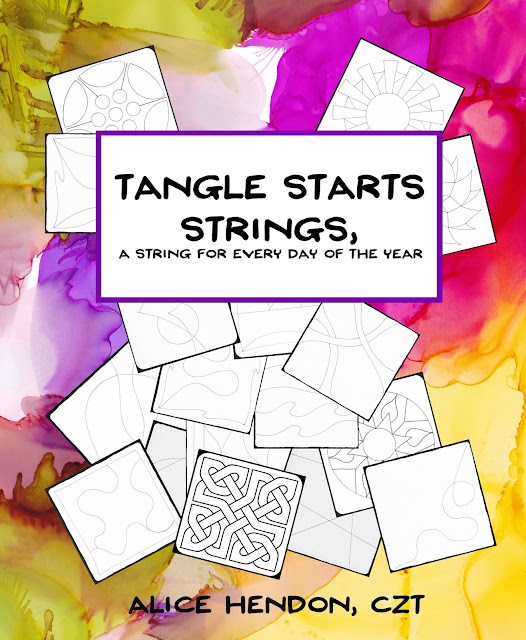 Tangle Starts Strings cover Alice Hendon, The Creator's Leaf