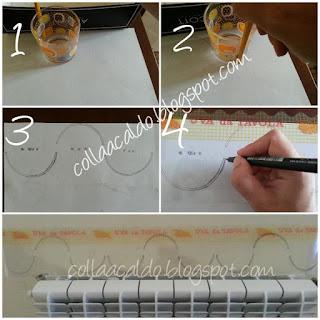 Stencil fai da te tutorial colla a caldo blog