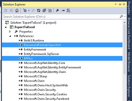 Export to Excel in MVC - asp net tips and tricks