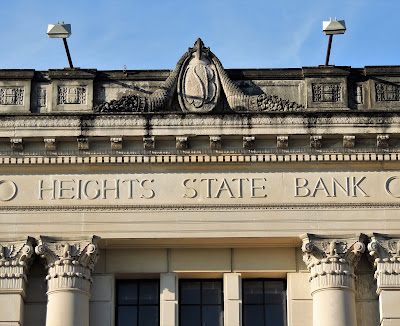 Heights State Bank (facade inscription)