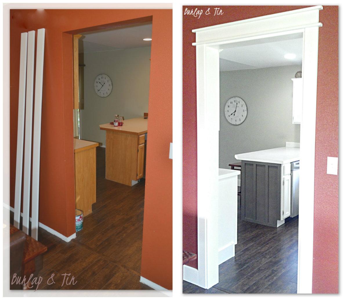 Burlap & Tin: New Doorways Say HELLO!