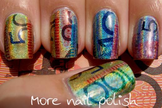 Aussie Nails Show Me The Money More Nail Polish