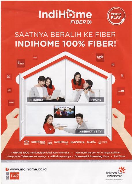 layanan internet dan telekomunikasi dari Telkom