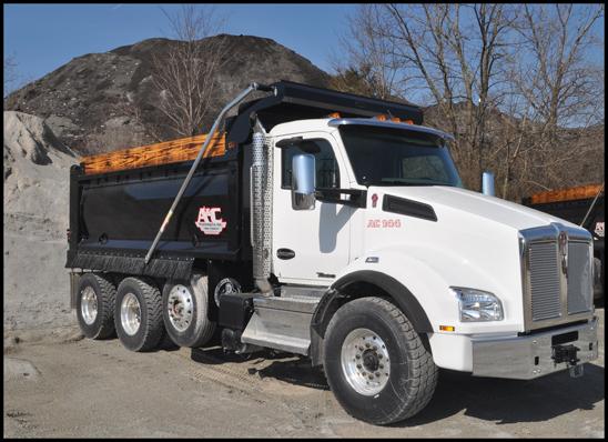 A&C Trucking Kenworth T880 Dump Truck