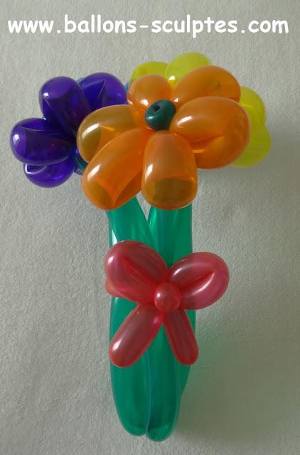 bouquet en ballons