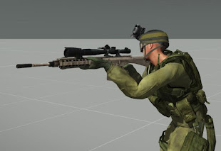 Arma 3 ericj weapons packアドオンのPVS-22とM3LR