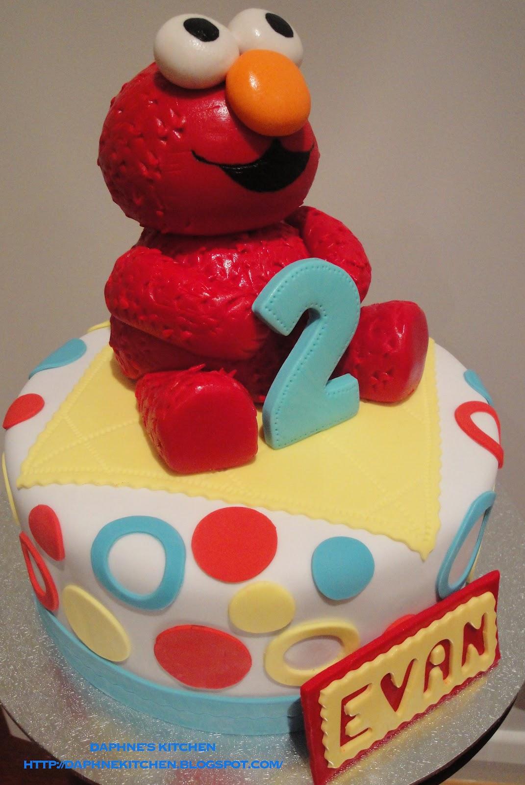 Elmo Cake Decorations Nz