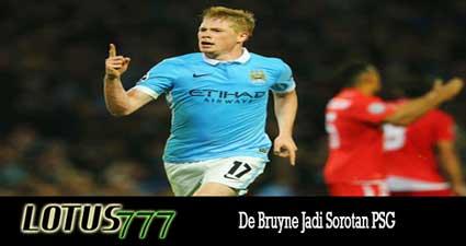 De Bruyne Jadi Sorotan PSG