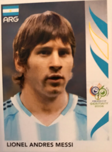 Figurina Messi, Germania 2006