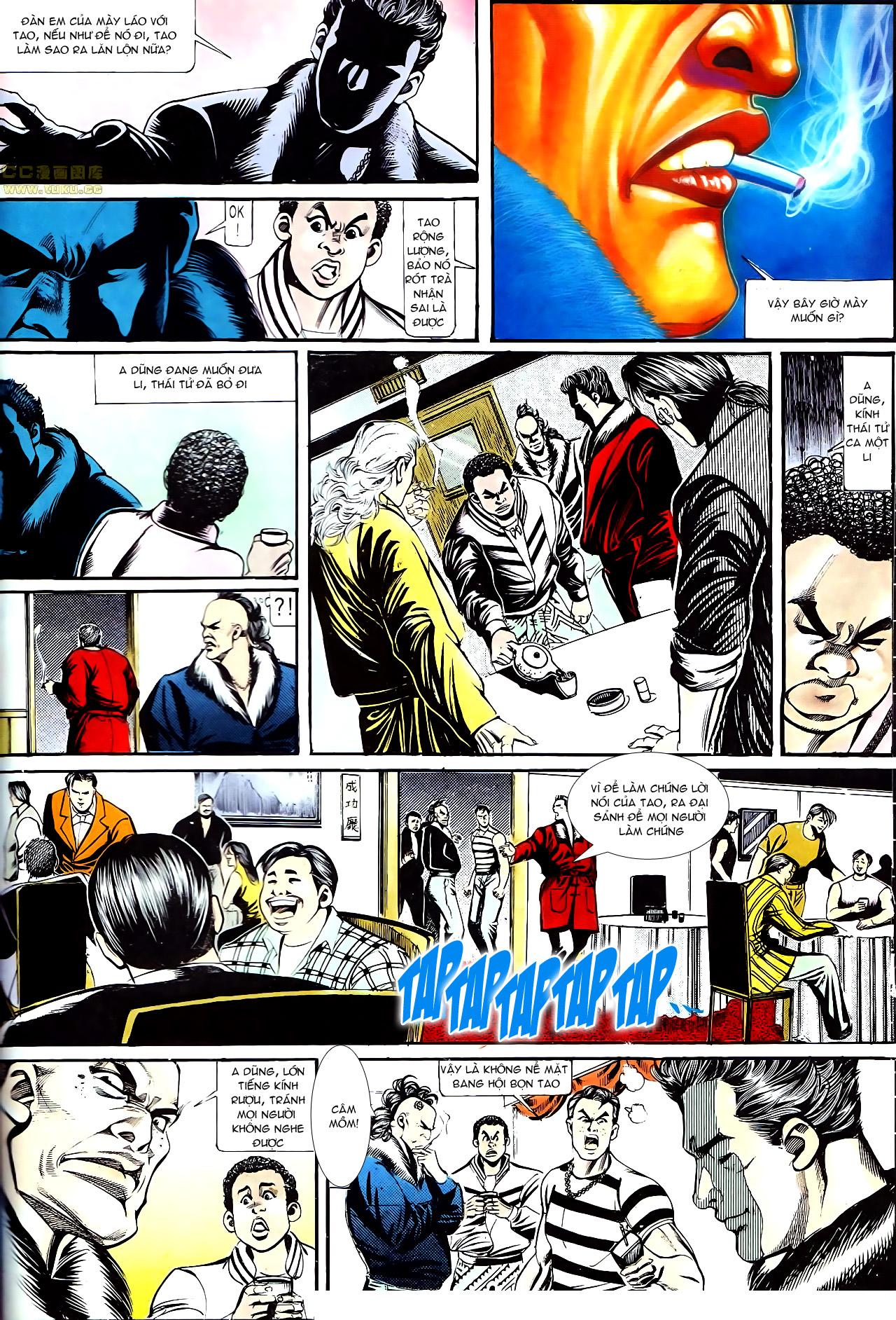 Người Trong Giang Hồ chapter 153: xích mích trang 7