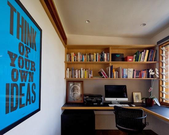 Hogares frescos 40 ideas para dise ar tu oficina en casa for Como disenar mi casa